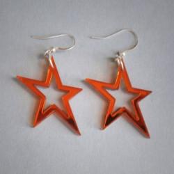 Stjerner i Spejl Plexiglas